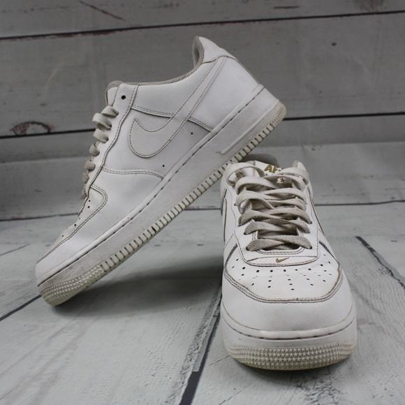 Low Crest US 10 1 Air Force EUR44 Logo Shoes White qzSGMpUV